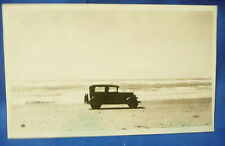 Picture of Vintage Car on Beach Oregon Coast