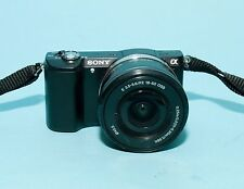 Sony Alpha A5000 20.1MP Digital Camera - Black (Kit w/ 16-50mm Lens)