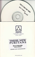 THESE NEW PURITANS Beat Pyramid 2008 UK 16-track promo test CD