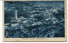 1911 Panorama di Vaiano Val di Bisenzio Contraerei 3° Batteria FP B/N VG