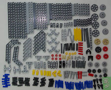 LEGO Technic NEW 250+ Studless Assorted Parts Pieces Beams Color Axle Gear MK_4