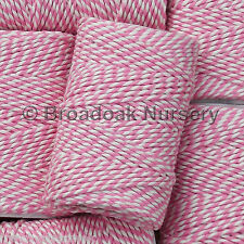 BEAUTIFUL COTTON BAKERS TWINE 20m TIDDLER SPOOL UK Made, a divine range of cols