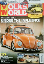 VOLKS WORLD MAGAZINE MAR 2015 BEETLE BUG BUS KOMBI VW CAMPER NOTCH VOLKSWAGEN