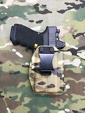 Multicam Kydex AIWB Holster Glock 19/23 Surefire XC1 w/adj Ret. - Appendix