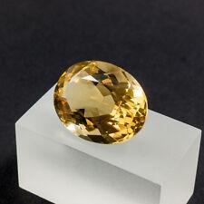 Citrin 25,75 Carat facettierter Gemstone geschliffener Edelstein Zitrin