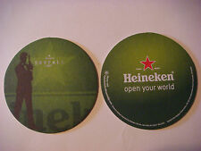 2012 Beer Brewery Coaster ~*~ HEINEKEN Brewery  **  SKYFALL James Bond Movie 007