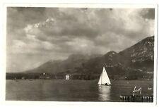 CPSM 74 Haute Savoie Annecy le Lac voilier