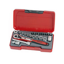 Teng Tools T1424 1/4 square drive 24 piece metric socket set