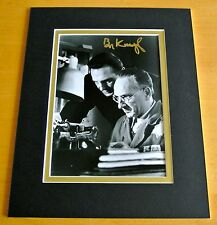 BEN KINGSLEY SIGNED AUTOGRAPH 10X8 PHOTO MOUNT DISPLAY SCHINDLERS LIST FILM COA