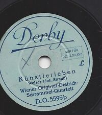 20 cm Derby Platte : Wiener Original Dietrich Schrammel Quartett : Kaiser-Walzer