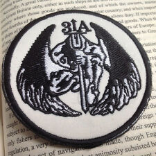 US SEAL TEAM 3 DARK ANGEL DEVGRU 31A 3D Embroidered Hook Loop VELCRO PATCH BADGE