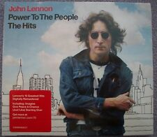 JOHN LENNON Power To The People THE HITS Gatefold Card Sleeve CD NEW AND SEALED