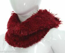 Lovely new super soft fluffy faux fur snood single loop scarf in various colours