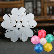 Cool Balloon Plum flower Clip Tie 6.5 cm Shape Clip Party Decoration  HFCA