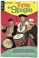 The Three Stooges #36 (Gold Key 1967 vf- 7.5) guides at $31.50 (£24.00)
