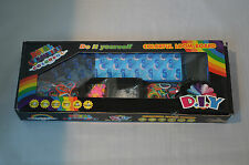D.I.Y. Royal Loom Bands Kit with Charms: Assorted Colorful Colors #E1