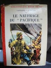 """Le Naufrage du """"Pacifique"""" - Cap. F.Marryat - 1952"""