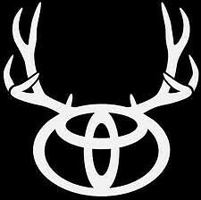 Toyota Buck vinly decal sticker pickup hunting outdoors yota