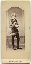 1880's CABINET PHOTO - ACTOR IN THEATRICAL COSTUME by Echard, Columbus, MS