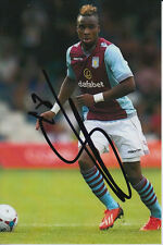 ASTON VILLA HAND SIGNED YACOUBA SYLLA 6X4 PHOTO.