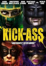 Kick-Ass  DVD Aaron Johnson, Nicolas Cage, Chloë Grace Moretz, Garrett M. Brown,