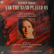 "OVP - MATTHEW MODINE AND THE BAND PLAYED ON - LASERDISC  12""  LD (O86)"