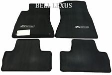 NEW LEXUS OEM FACTORY FLOOR MAT SET 2006-2012 IS250  2006-2012 IS350 2WD (BLACK)