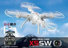 Drone SYMA X5SW FPV HEADLESS CAMERA HD real time WiFi PER IPHONE E ANDROID