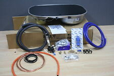 Smev 8322 Campervan Double Burner Hob, Sink, Micro-switched tap. Ideal for VW T5