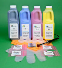 HP 4700 4700dn 4700dtn 4700n 4700ph+ 4-Color Toner Refill Kit w/Hole-Making Tool