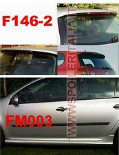 SPOILER POSTERIORE + MINIGONNE GOLF V 5 SERIE TIPO GTI GREZZO F146-2G + SI-M003