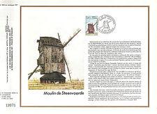 DOCUMENT CEF PREMIER JOUR 1979 MOULIN DE STEENVOORDE