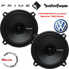 "VW Golf Mk2 II 1983-1995 - 13cm 5.25"" 5-1/4 Inch Front Door Speakers Upgrade Kit"
