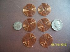 Shielded WIRE 6 SBB Copper Coils For ORGONE MAKING SUPPLIES, Radionics