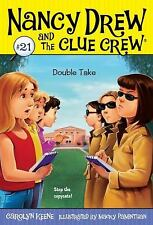 Double Take (Nancy Drew and the Clue Crew, No. 21)-ExLibrary