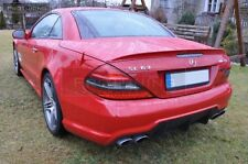 Mercedes Benz SL-Class R230 01-11 Spoiler AMG Trunk REAR Heck lip Wing MB Boot