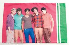 One Direction 1D Reversible Pillowcase Pillow Case NEW