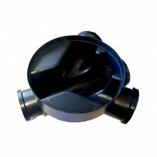 Small Inspection Chamber Base 320mm 2 Inlet