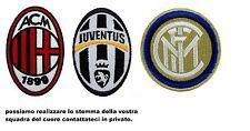 Toppa Patch Stemma SERIA A- B- C  italia calcio figc juve roma inter MILAN LAZIO