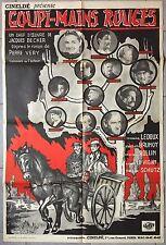 Affiche GOUPI MAINS ROUGES Fernand Ledoux GEORGES ROLLIN Becker R80x120cm *
