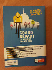 2016 Tour De France Grand Depart Souvenir Postcard: Poster Version: Cycling