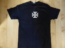 "West Coast Choppers Original Iron Cross Tee Shirt  T-Shirt Black L 42"" Jesse Who"