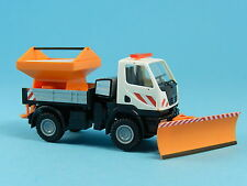 WIKING 7064606 MERCEDES BENZ UNIMOG U20 WINTERDIENST 1:87