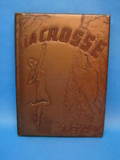 1940 Lacrosse Wisconsin State Teachers College Yearbook Topless Breasts Cover