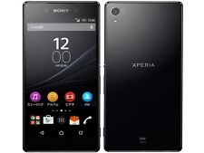 AU KDDI SONY SOV31 XPERIA Z4 ANDROID 6.0 PHONE SMARTPHONE UNLOCKED JAPAN BLACK