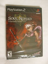 Soul Nomad & World Eaters (Playstation PS2) Brand New, Sealed~