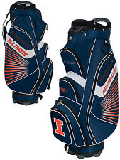 Team Effort Bucket II Cooler NCAA Golf Cart Bag Illinois Fighting Illini