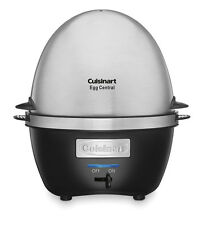 NEW! Cuisinart CEC-10 Egg Central Egg Cooker with Two-tiered Cooking System