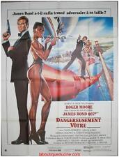DANGEREUSEMENT VOTRE A View to a Kill Affiche Cinéma Originale / Movie Poster