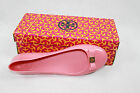 AUTH Tory Burch Women Pink Jelly Flat Shoes